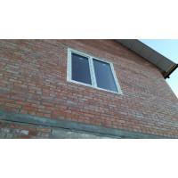 Двухчастное металлопластиковое окно Steko S300 (4-16-4) Axor